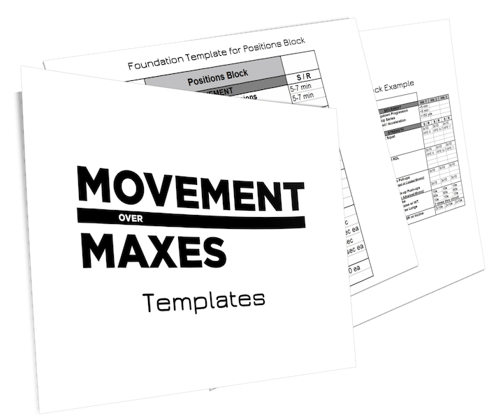 NEW: Movement Over Maxes by Zach Dechant - Movement Over Maxes